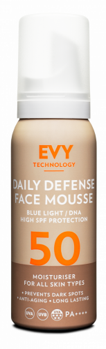 EVY Daily Defense Face Mousse SPF 50 (75ml)