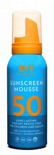 EVY Sunscreen Mousse SPF 50 (100ml)