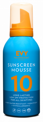 EVY Sunscreen Mousse SPF 10 (150ml)